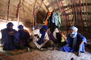 Tuareg tea ceremony, Timbuktu,Mali (2011)